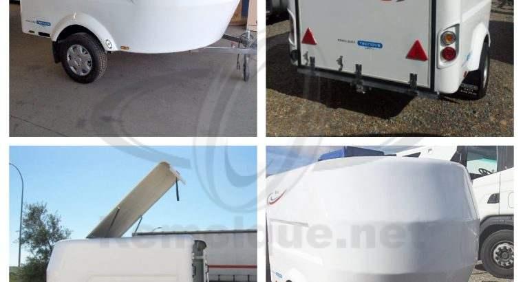 Remolques homologados de 750kg a 1800kg para una amplia variedad de aplicaciones