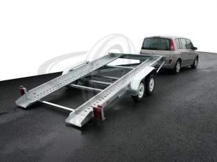 Venta de remolque porta coche basculante nuevo