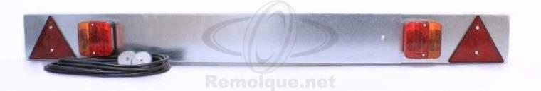 Placa de luces extensible para remolque