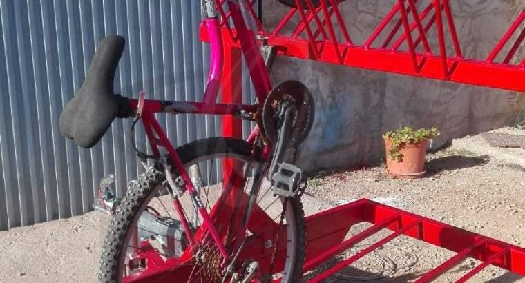 Plataforma remolque para bicicletas