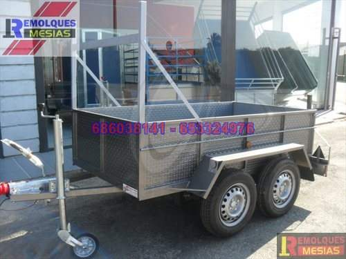 Remolque de carga rueda lateral