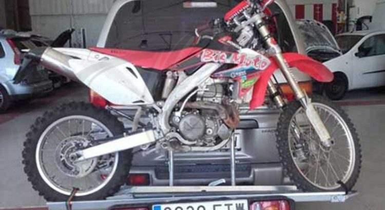 remolque para motos