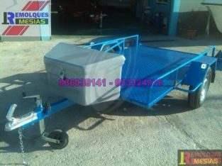 Remolque porta buggys