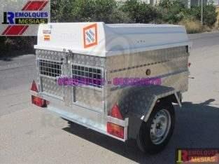 Remolque para perros 2 compartimentos