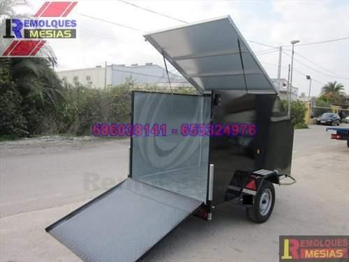 Remolque furgon para Karts