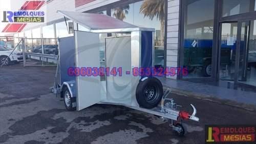 Remolque furgon para motos