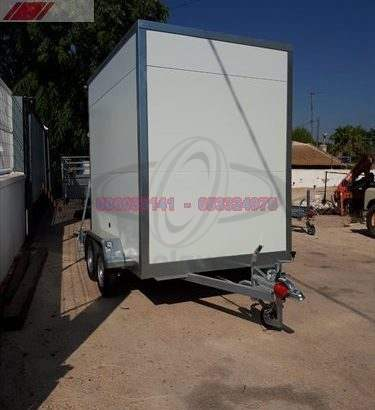 Remolque furgon gran volumen