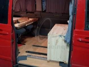 Vendo furgoneta Camperizada