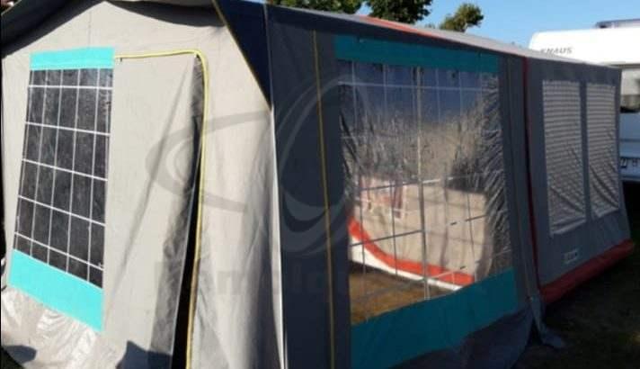 Remolque tienda Wolder Tuareg de menos de 750Kg y Sin necesidad de ITV