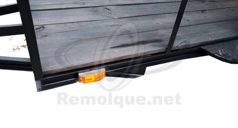 REMOLQUE DE ACERO REFORZADO PARA 1.5 TONELADAS 1.5 X 3.05 m 23,000 ¡ G A N A L O !