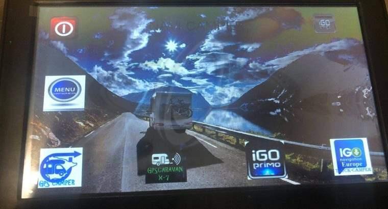Ultima generación GPS CAMPER-CARAVAN