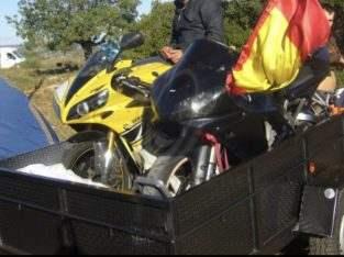 Remolque para motos y mudanzas