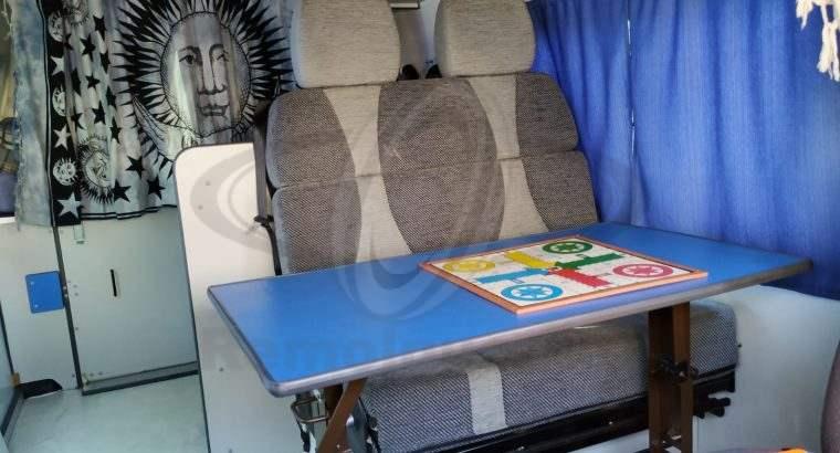 Camper homologada como vehículo vivienda