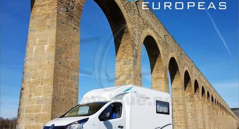 Autocaravana Evolution – 2 plazas – Renaul Trafic