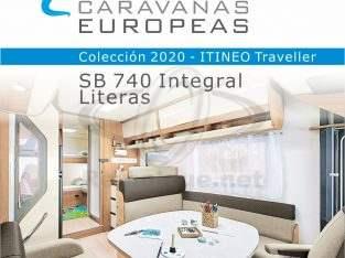 Autocaravana ITINEO SB740 Integral – P. LIFE