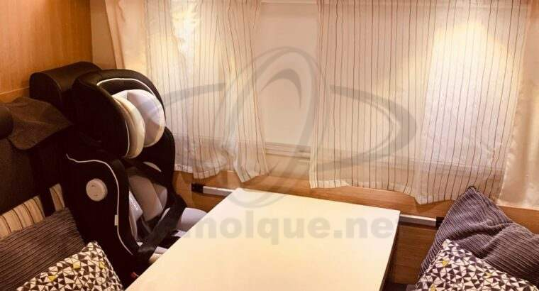Autocaravana Sunlight modelo A68 tipo capuchina