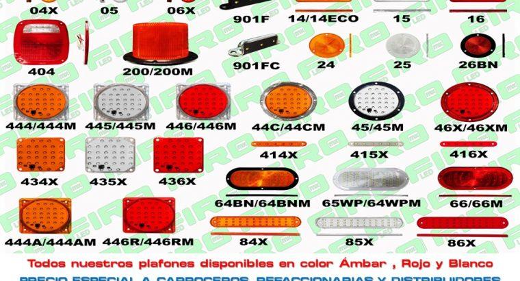 VENTA PLAFONES PLANOS LED